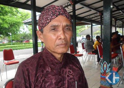Ki Sadipan Pencipta Lelagon Wisata Gunungkidul. Foto: Sarwo.