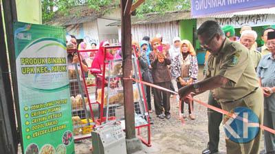 Peresmian Pusat Jajanan Pasar Kecamatan Patuk. Foto: Atmaja.