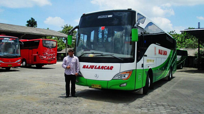 Didik Adiprasetyo, Manager Operasional dan salah satu armada andalan PO Maju Lancar.