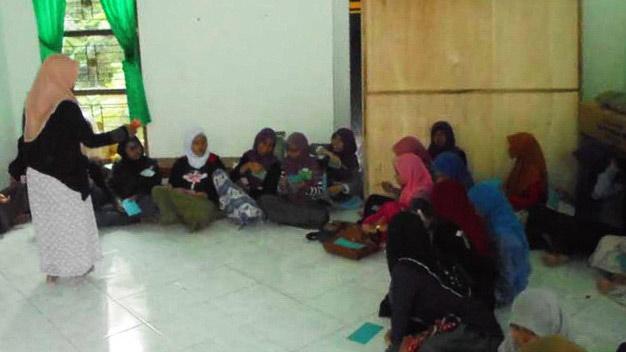 Sosialisasi Cegah Nikah Dini di MTsN Wonosari. Foto: Hari.