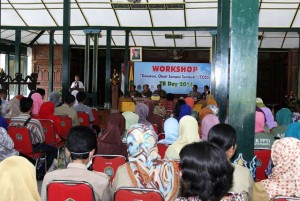 Workshop TB Day di Bangsal Sewoko Projo. Foto : KH