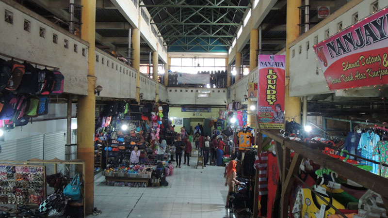 Pasar Argosari Wonosari. KH/Kandar.
