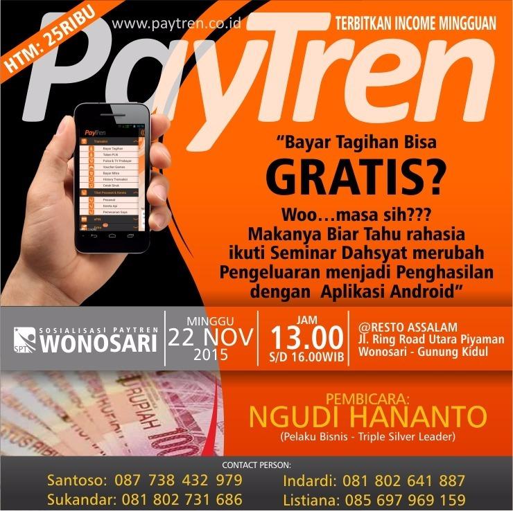 PayTren, Peluang Usaha Dan Bisnis Menjanjikan Dengan HP Android Saja