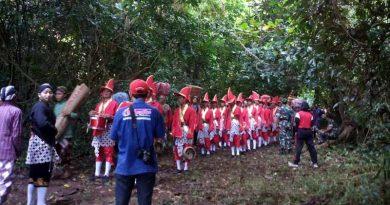 Babat Dalan Gebangkara, Ribuan Warga Bersama Bregada Prajurit Berjalan Menembus Hutan