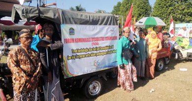Ikuti Kirab HUT Gunungkidul, FKDG Siap Berperan Serta Dalam Pembangunan
