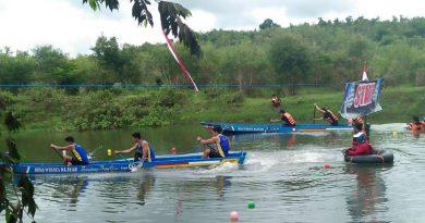 Perdana Digelar, Lomba Perahu Kayak Diwacanakan Digelar Tiap Tahun