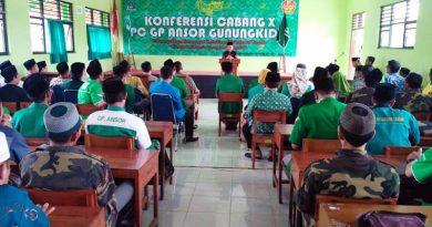 Gelar Konfercab, GP Ansor Gunungkidul Minta Wawasan Kebangsaan Diterapkan Di Sekolah