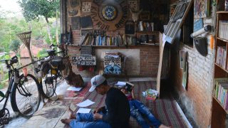 Perpustakaan Lumbung Kawruh; Dusun Ngurak-urak Desa Petir Kecamatan Rongkop