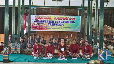 Gelar Festival Karawitan se-Gunungkidul. Foto: Atmaja.