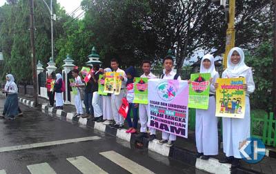 Gerakan Peduli HIV/AIDS di Gunungkidul. Foto: Juju.