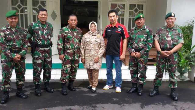 Peringatan HUT Infanteri TNI AD di Gunungkidul.
