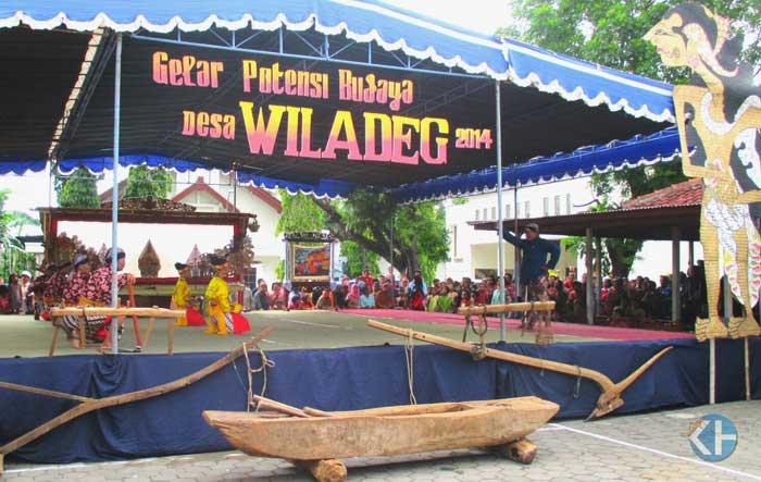Gelar Bidaya Desa Wiladeg. Foto: Atmaja.