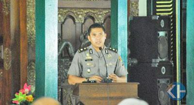 Kabagops Polres Gunungkidul Kompol Dedi Wijaya. Foto: Juju.