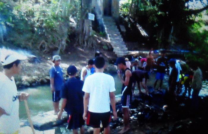 Sumber Air Kedungpoh Menggoran Playen dikelola menjadi PAM swadaya. Foto: Sarwo.