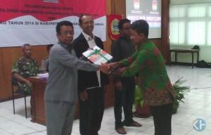 KPUD Gunungkidul luncurkan Buku Hasil Pemilu 2014