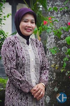 Siti Badriyah. Peraih Kalpataru Pengabdi Lingkungan 2012. Foto: Mutia.