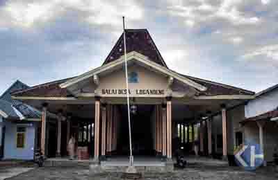 Balai Desa Logandeng Kecamatan Playen. Foto: Stsujoko.