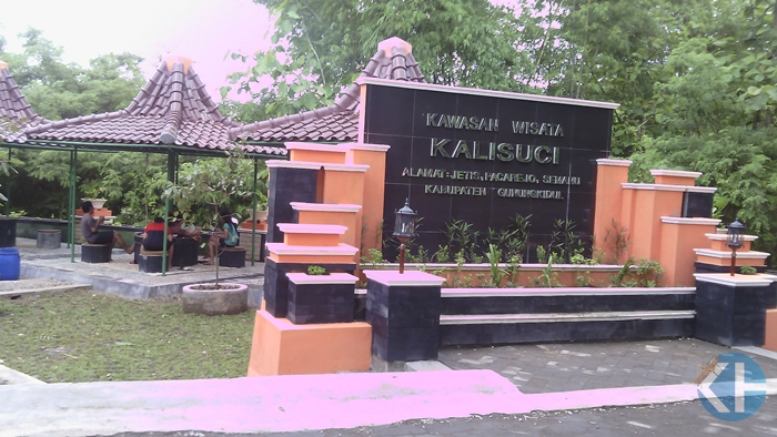Kawasan wisata Kalisuci Semanu. Foto : Jhody.