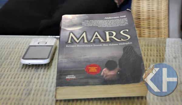Novel Mars yang diangkat ke layar lebar