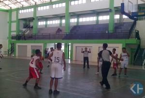 Kejuaraan Kelas Olahraga se-DIY cabang bola basket. Foto : Atmaja.