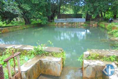 Sumber air Gendaren Ponjong. Foto: Hari.