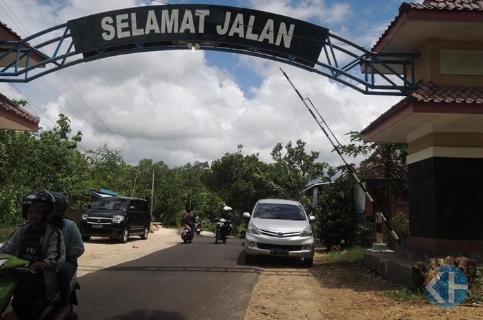 Pos Retribusi Pantai Ngrenehan, Ngobaran dan Nguyahan. Foto : Kandar.