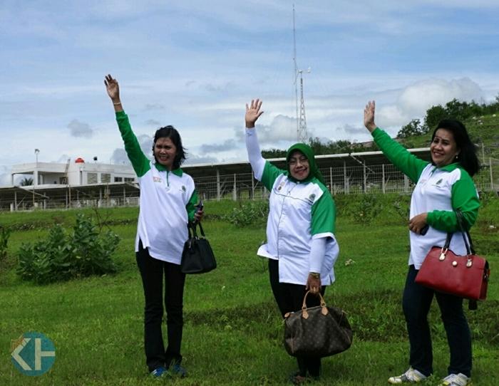 Kunjungan Bupati di lokasi Baron Technopark. Foto : Sumaryanto