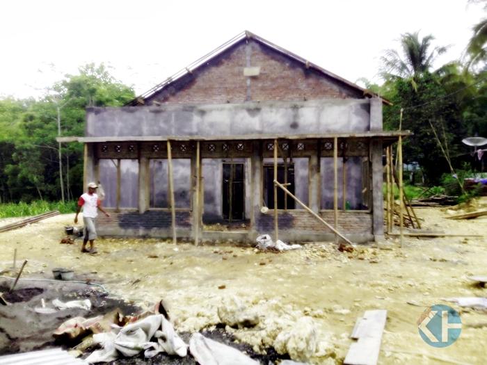 Pembangunan Galeri Batu Mulia di Sawahan Ponjong.
