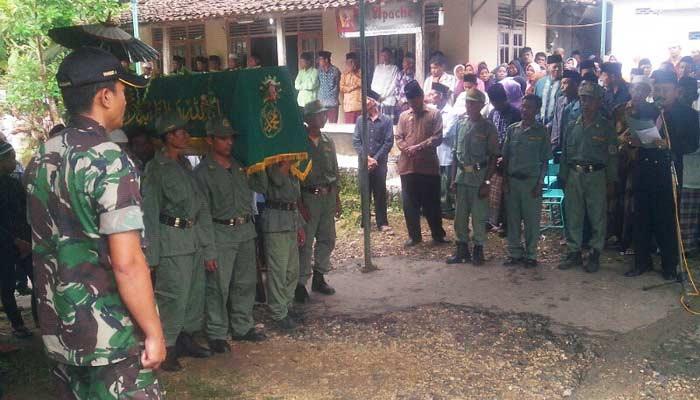 Pemakaman Samingan Dukuh gedad Banyusoca Playen. Foto: Atmaja.