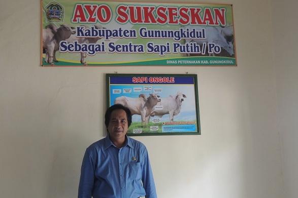 Drh Krisna Belian Kadis Peternakan Kab Gunungkidul. Foto: Kandar.