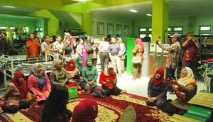 Kunjungan KPUD Kalimanatan. Foto : Juju