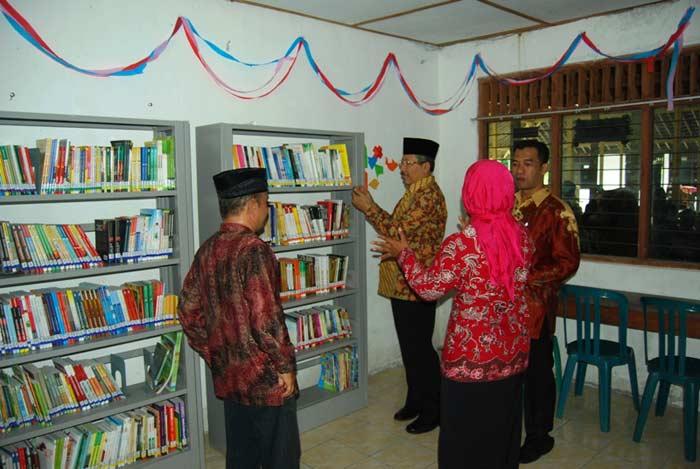 Perpustakaan Desa Dengok Playen. Foto: Juju