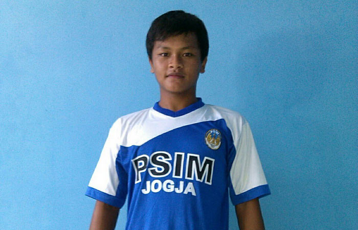 Rochiawan, pemain muda direkrut PSIM. Foto: Maryanto.