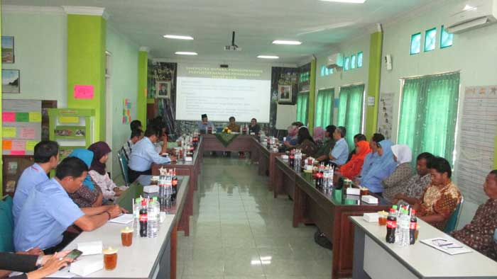 Mentoring di KPAD Kab. Gunungkidul