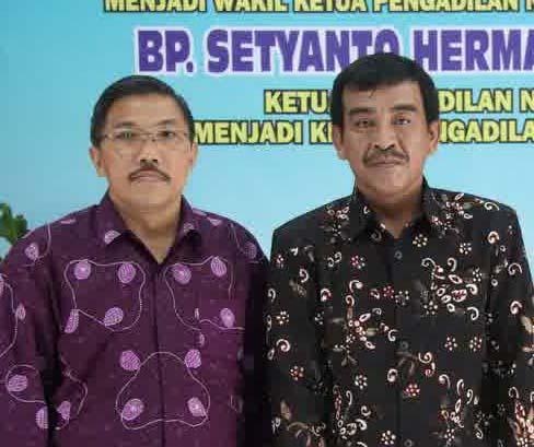 Setyanto Hermawan, Ketua PN Wonosari yang baru. Foto: Sarwo.