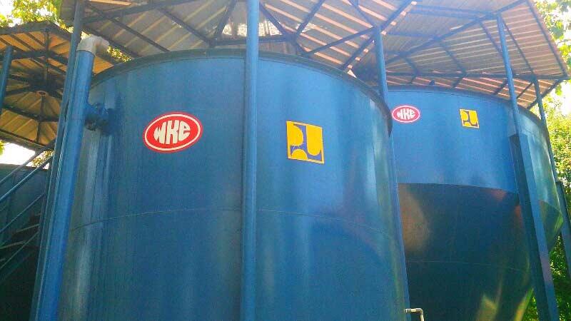 Intsalasi Pengolah Air Bunder milik PDAM Gunungkidul. Foto: Atmaja.