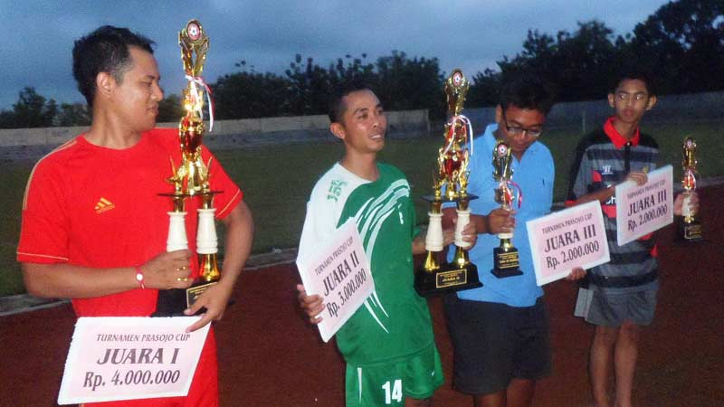 Rajawali Club Juara Prasojo Club 2015. Foto: Sarwo.