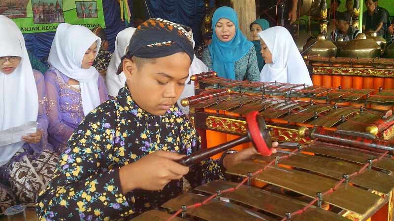 Pengembangan seni budata lokal di Kecamatan Saptosari. Foto: Atmaja.