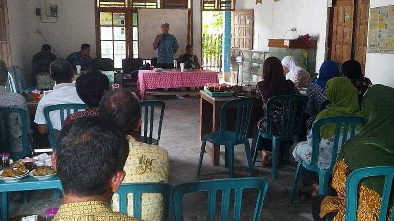 Kelompok Tani Menur Desa Wareng Wonosari. Foto: Atmaja.