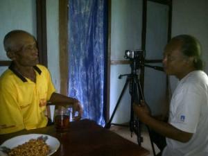 Mbah Harso. Foto : Juju
