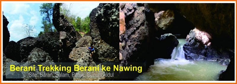 WIsata Trekking Nawing di Baran, Salam, Patuk. Foto: Dev, P Mardiyanto.