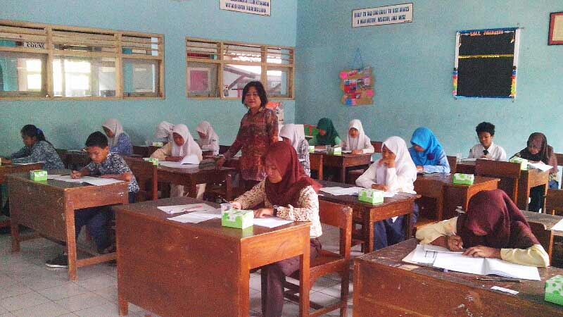 Olimpiade Sains SMP se-Kabupaten Gunungkidul. Foto: Atmaja.