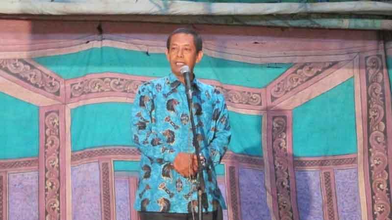 Kepala Dinas Kebudayaan dan Kepariwisataan (Disbudpar) Kabupaten Gunungkidul, Saryanto. Foto : Atmaja