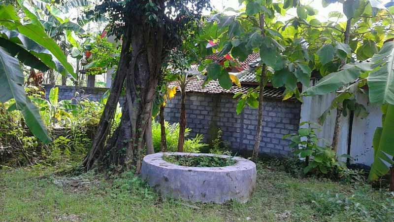 Sumur tua Mbah Jo Pawiro selalu dirawat masyarakat setempat. Foto: Atmaja.