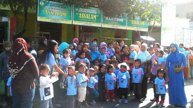 Taman Anak Sejahtera Assalam Selang Gelar Rekreasi ke Gembiraloka. Foto: Hari.