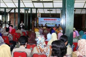 Workshop TB Day di Bangsal Sewoko Projo. Foto : KH
