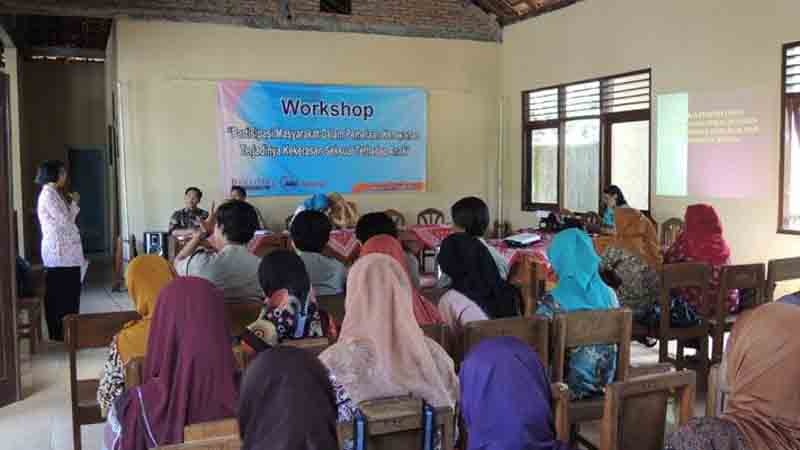 Suasana Workshop. Foto : Kandar