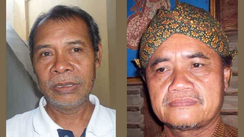 Ki Supriyanto dan Ki Setyobudi. Foto : Sarwo