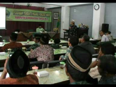 Audiensi mantan P3N di Kantor Kemenag Kabupaten Gunungkidul. KH/Juju.