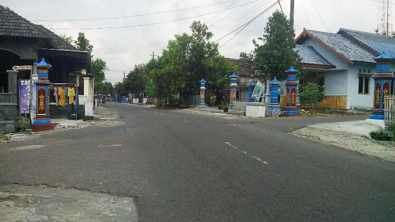 Desa Siraman Kecamatan Wonosari. Foto: Atmaja.